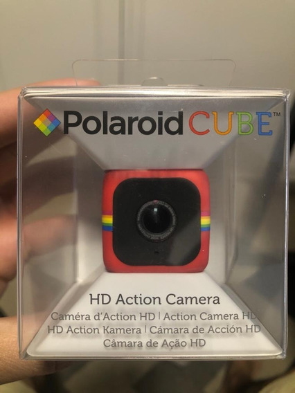 Câmera De Ação Polaroid Cube Full Hd Magnetico Sd 8gb Gopro