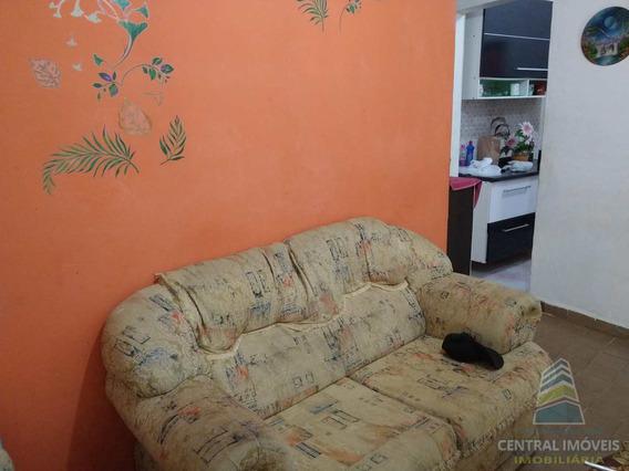 Casa Com 1 Dorm, Aviação, Praia Grande - R$ 160 Mil, Cod: 7240 - V7240
