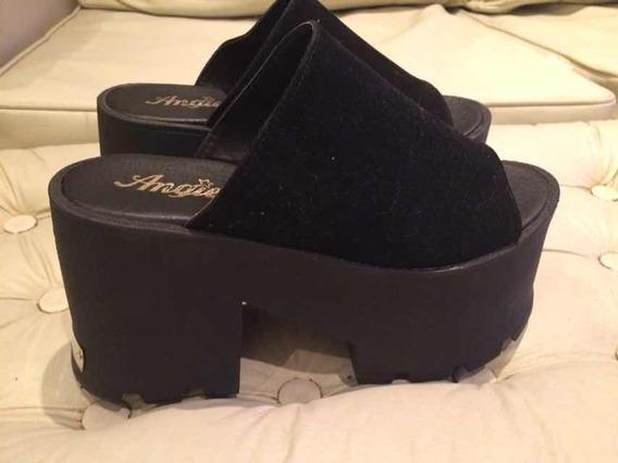 Zapatos Plataforma. Sandalias. Suecos. Número 38