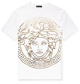 Playera Versace Medusa Original No Gucci Louis Vuitton