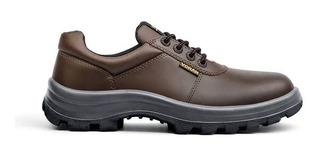 Calzado Zapato Seguridad Funcional Voran Tauro Marron