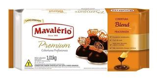 Chocolate Em Barra Blend Fracionado 1,01kg - Mavalerio