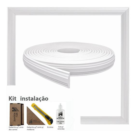 Rodameio Autocolante Eva Flexível 4cm - 10 Metros + Brinde