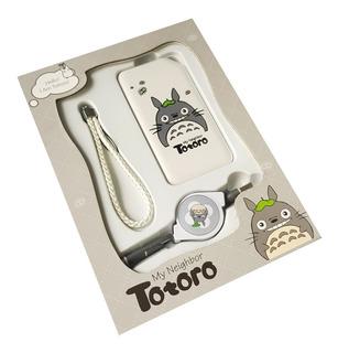 Power Bank Anime Totoro 10000 Mah Para Android iPhone