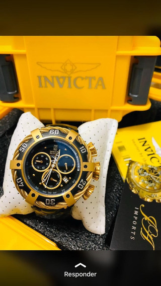 Relógio Invicta Thunderbolt Dourado
