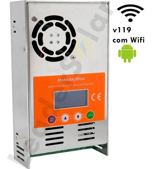 Controlador De Carga Solar Mppt Makeskyblue 40a V119 Wifi
