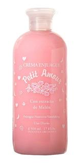 Crema Enjuague Petit Amour X 500 Ml.