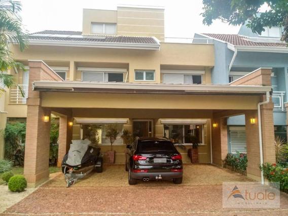 Casa Com 3 Dormitórios À Venda, 380 M² - Residencial Parque Portugal - Campinas/sp - Ca6269