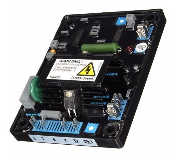 Regulador Tensão Avr Para Geradores Sx460