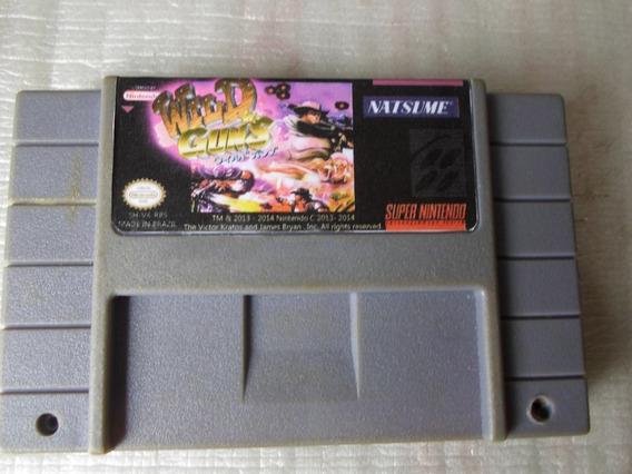 Jogo Wild Guns Para Super Nintendo