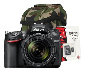 Camara Digtal Nikon D7200 Reflex Kit 18-140 Vr Fullhd Regalo