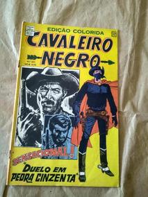Cavaleiro Negro Nº 201 - Anos 60 - Rio Gráfica - Faroeste
