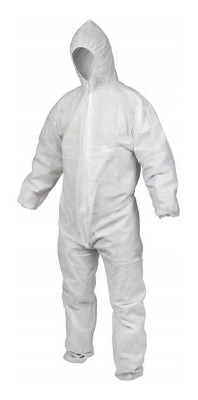 Macacão Vicsa Tyveky Proteção Química Capuz (1 Peça)