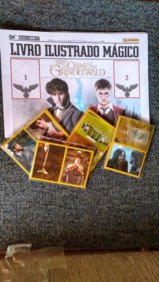 Álbum De Fig. Animais Fantásticos Os Crimes De Grindelwald.