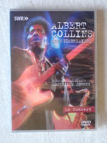 Dvd Albert Collins & The Icebreakers In Concert Novo Lacrado