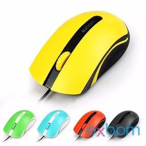 Mouse Usb Exbom Ms-50 Optico 1000dpi Amarelo