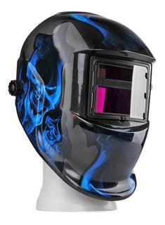 Flexzion Solar Powered Welding Helmet Auto Darkening Weld/gr