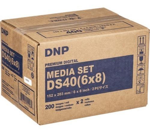 Papel Fotográfico (bobina Para Impresora Dnp 6x8)