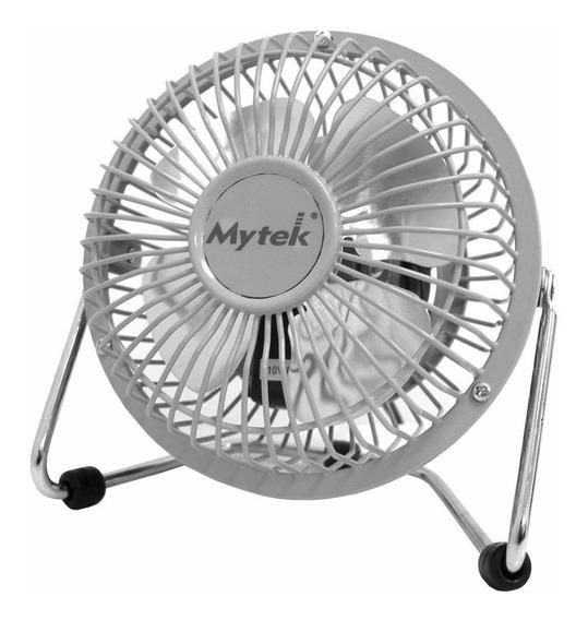 Ventilador Mytek 3131 4 Pulg Escritorio 1vel Metalico