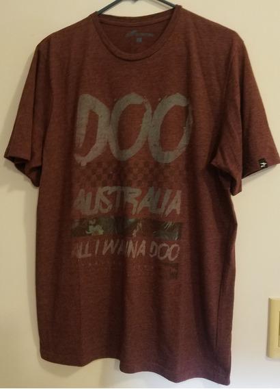 Remera Marca Doo Australia - Talle L