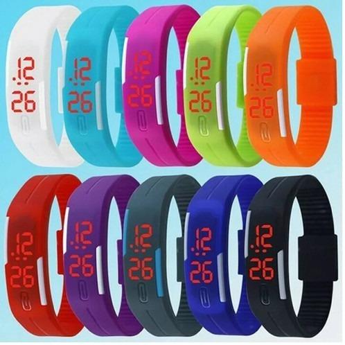Kit 8 Relógios De Led Nike Para Academia
