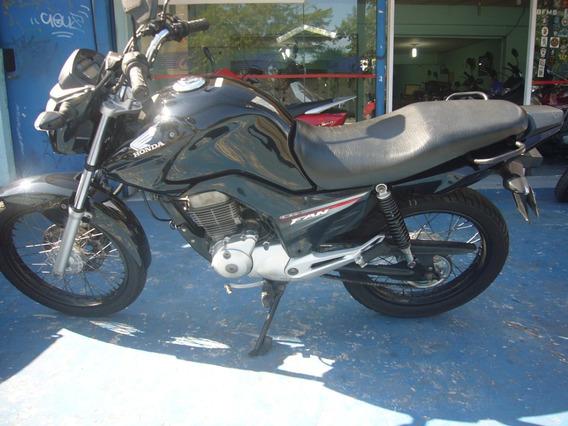 Honda Cg 150 Fan Esdi 2014 Preta R$ 7.999 Troco E Financia