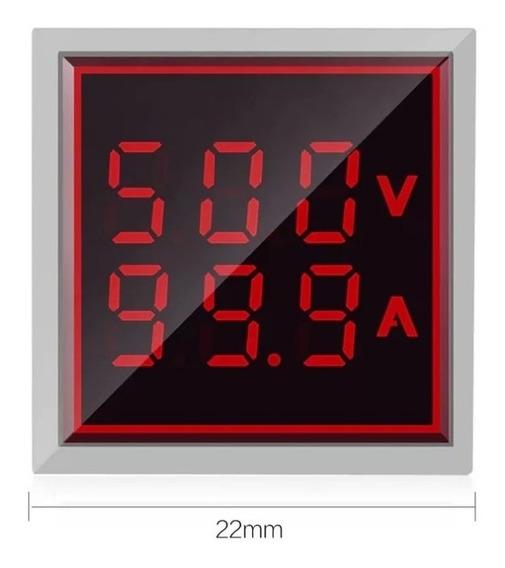 Voltimetro Amperimetro Digital Alterna 120v Ca 100 A