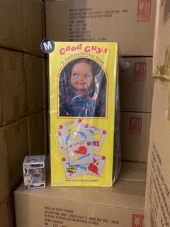 Chucky Good Guy Prop Replica 1:1 Trick Or Treat ! Disponible