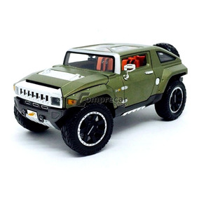 Miniatura Hummer Hx Concept Verde Maisto 1/18
