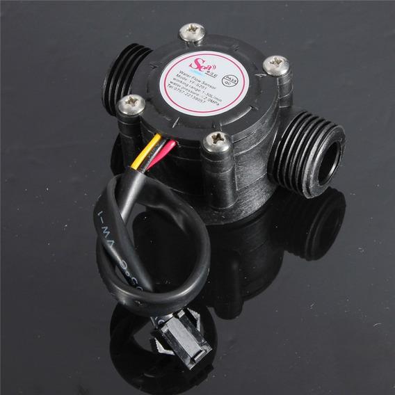 1-30l/min 2.0mpa Sensor De Fluxo De Água Medidor Hall Sensor