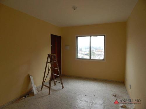 Apartamento Com 2 Dormitórios, 65 M² - Venda Por R$ 150.000,00 Ou Aluguel Por R$ 800,00/mês - Alves Dias - São Bernardo Do Campo/sp - Ap0351