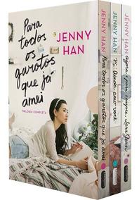 Box 3 Livros Para Todos Os Garotos Que Já Amei - Jenny Han #