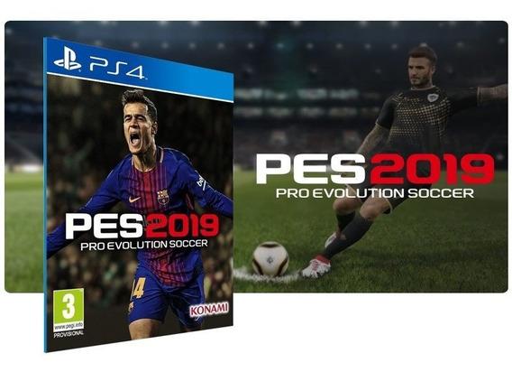 Pes 2019 Jogo Ps4 Psn Game Digital Portugal