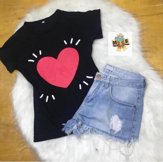t-shirt Feminina Blusas