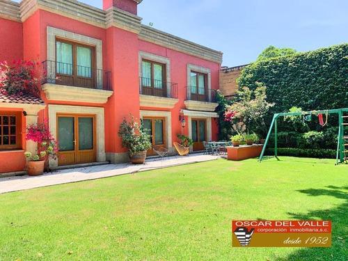 Imagen 1 de 14 de Exclusiva Residencia En Venta, San Ángel