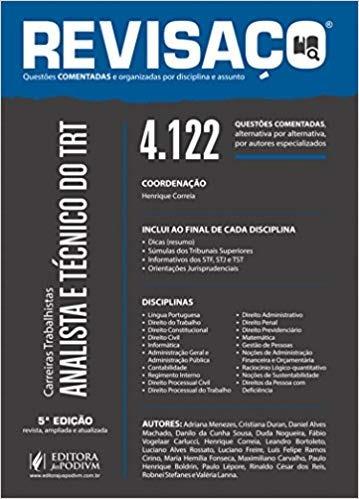 Revisaço Analista E Técnico Do Trt 2 Vol Henrique Correia