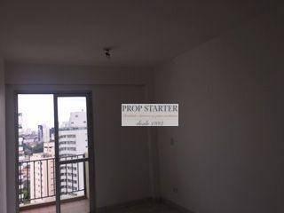 Imagem 1 de 20 de Apartamento Com 1 Dormitório Para Alugar, 46 M² Por R$ 1.700/mês - Aclimação - Propstarter - Ap1041