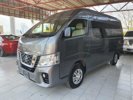 Nissan Urvan 2019 2.5 12 Pas Aa Pack Seguridad Mt