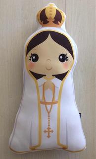 Almofada Nossa Senhora De Fátima, Amor Fé E Esperança