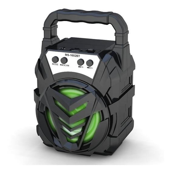 Caixinha Som Portátil Bluetooth Tf Sd Rádio Fm Usb Mp3 796