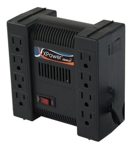 Imagen 1 de 3 de Regulador Complet Xpower 1300va 8 Contactos Erv-9-001