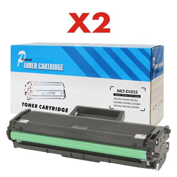 Kit 2 Toner Compatível D111 Mlt D111s M2070 M2070w 2070w