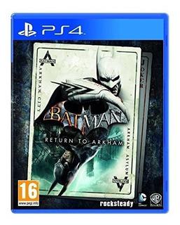 Batman Rerurn To Arkham Eu Ps4 Nuevo Fisico Sellado