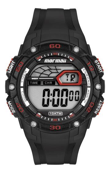 Relógio Mormaii Masculino Preto Redondo - Mo9670af/8r