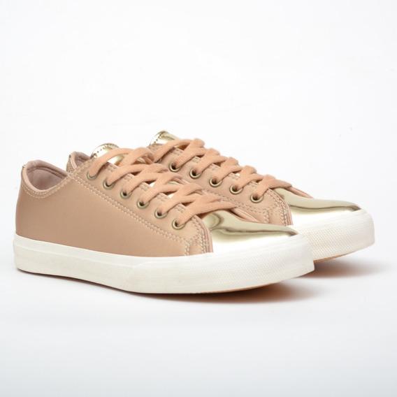Zapatillas Mujer Urbanas Cuero Ecológico Sneakers Moda 2019