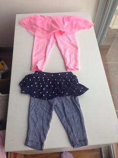 Lote De 7 Articulos Pantalones/overol/chamara Bebe 6 Meses