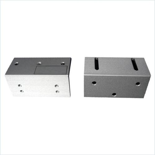 Soporte Z Aluminio Puerta Interior Cerraduras 60/70lbs