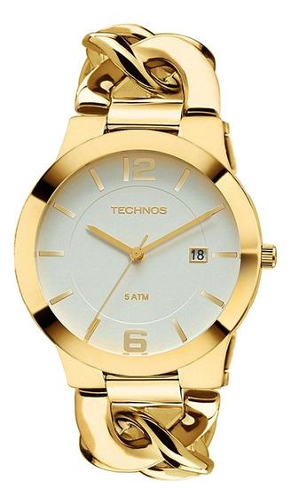 Relógio Technos Fashion Analógico Feminino Dourado 2115ul/4b