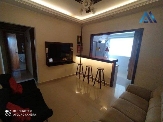 Apartamento Com 2 Dormitórios À Venda, 72 M² Por R$ 260.000 - Catiapoa - São Vicente/sp - Ap0569