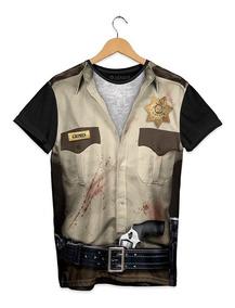 Playera Doshik Cab. The Walking Dead Armadura Sheriff Grimes